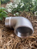 """Elbow, 65mm (2 1/2"""" BSP) 316 Stainless Steel with BSP Male x BSP Female Threads"""