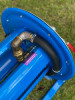 """Water fittings assembly view of 20-30m 1"""" hose reel."""