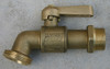 "Brass ""Balmain"" tap with lever handle 1"" male BSP outlet and 3/4"" male BSP inlet"