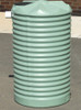 500 Litre Round Poly Tank - Corrugated Profile
