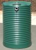 1,100 Litre Round Poly Tank - Corrugated Profile