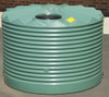 2,250 Litre Low-Profile Round Poly Tank - Corrugated Profile