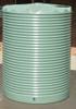 4,500 Litre Round Poly Tank- Corrugated Profile