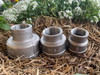 """Reducing Socket, 25 x 20mm (1"""" x 3/4"""") 316 stainless steel Reducing Socket wiith BSP threads."""