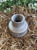"""Reducing Socket,  40 x 32mm (1 1/2"""" x 1 1/4"""") 316 stainless steel Reducing Socket wiith BSP threads."""