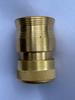 12mm  Brass Flo-Thru Hose Connector (12mm Hose x 12mm Click-On)