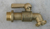 """Brass """"Balmain"""" tap with lever handle 3/4"""" male BSP outlet and 1/2"""" male BSP inlet"""