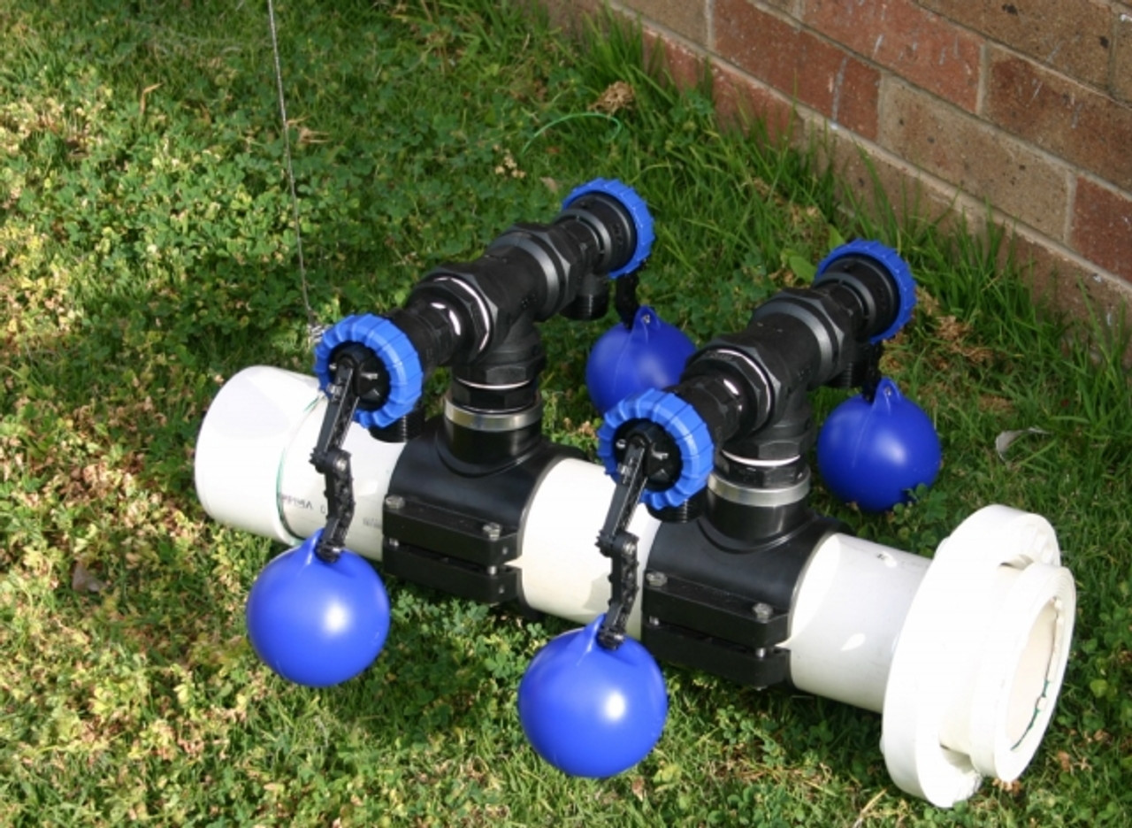 """150mm Flanged """"Multi-Float"""" Float Valve Unit with 6x Maxflo Valves Capable of 1,800 L/min at up to 10 Bar."""