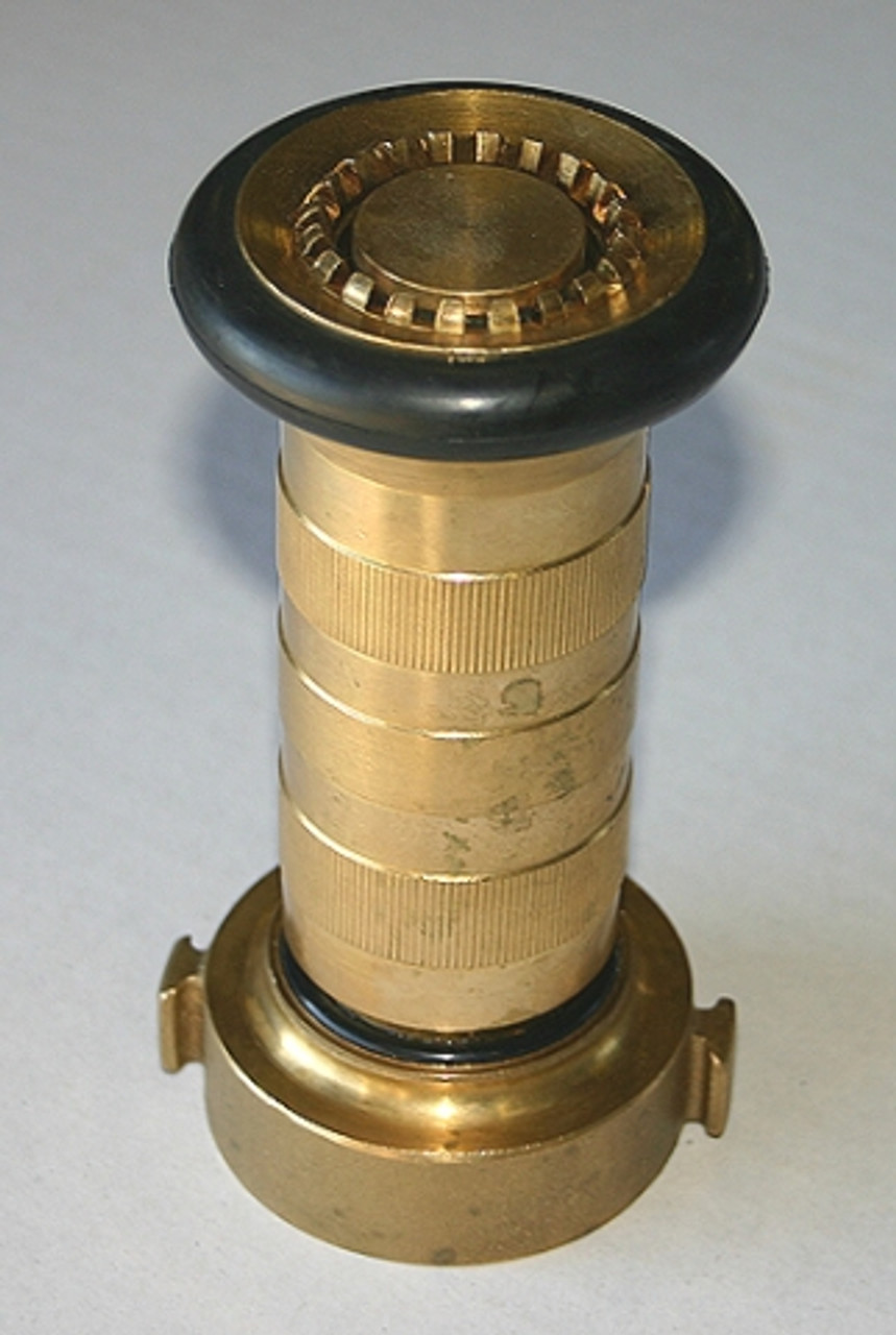 38mm Brass Fire Nozzle with Rubber Ring
