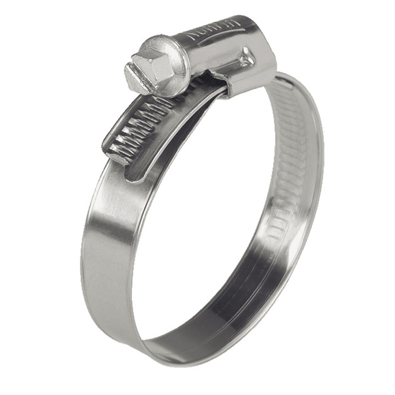 35 - 50mm Norma W4 All Stainless Steel Clamp - Worm Drive
