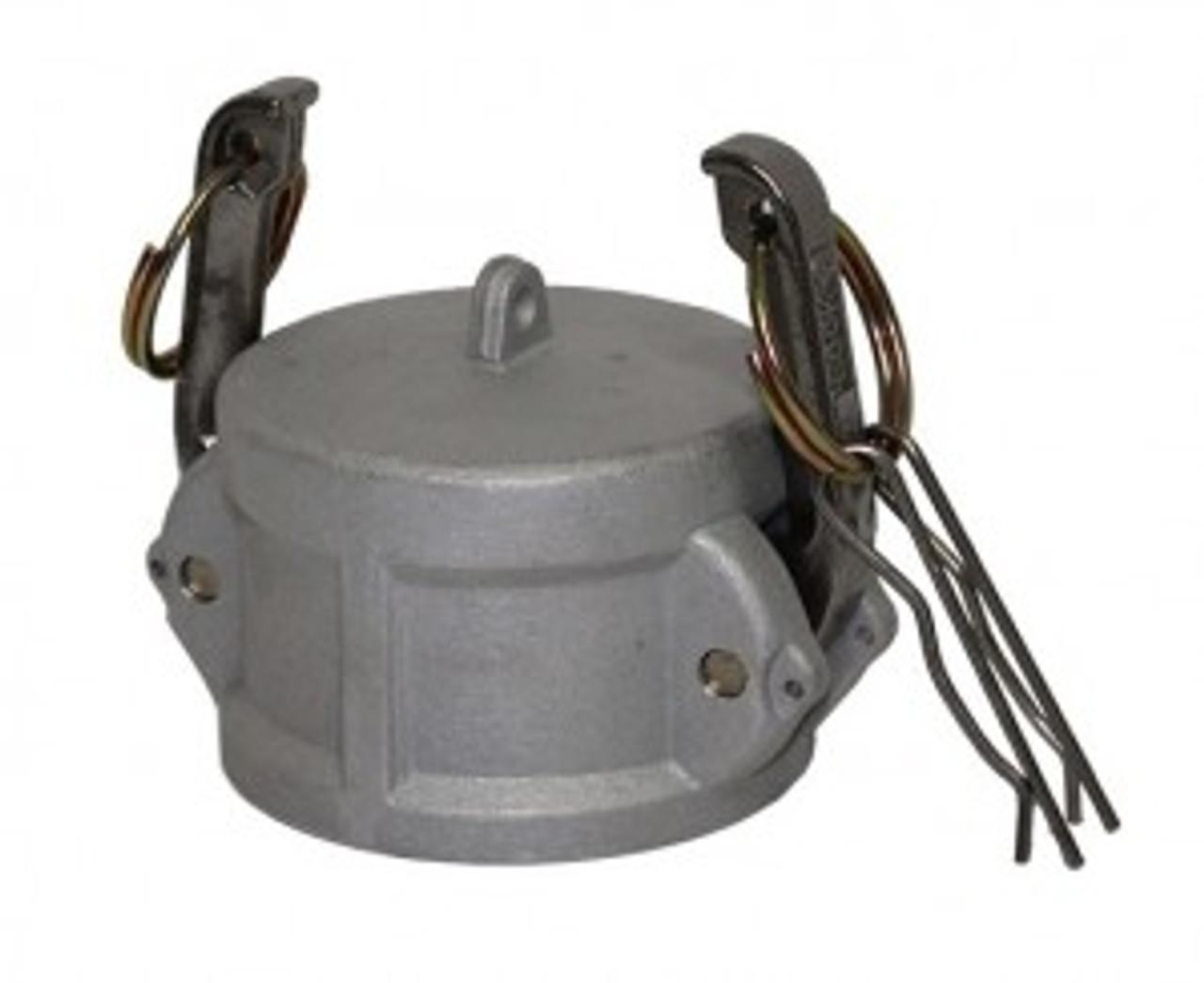 Camlock 75mm 'DC' - 25mm Female Camlock Dust Cap - CAM-AL-80-DC