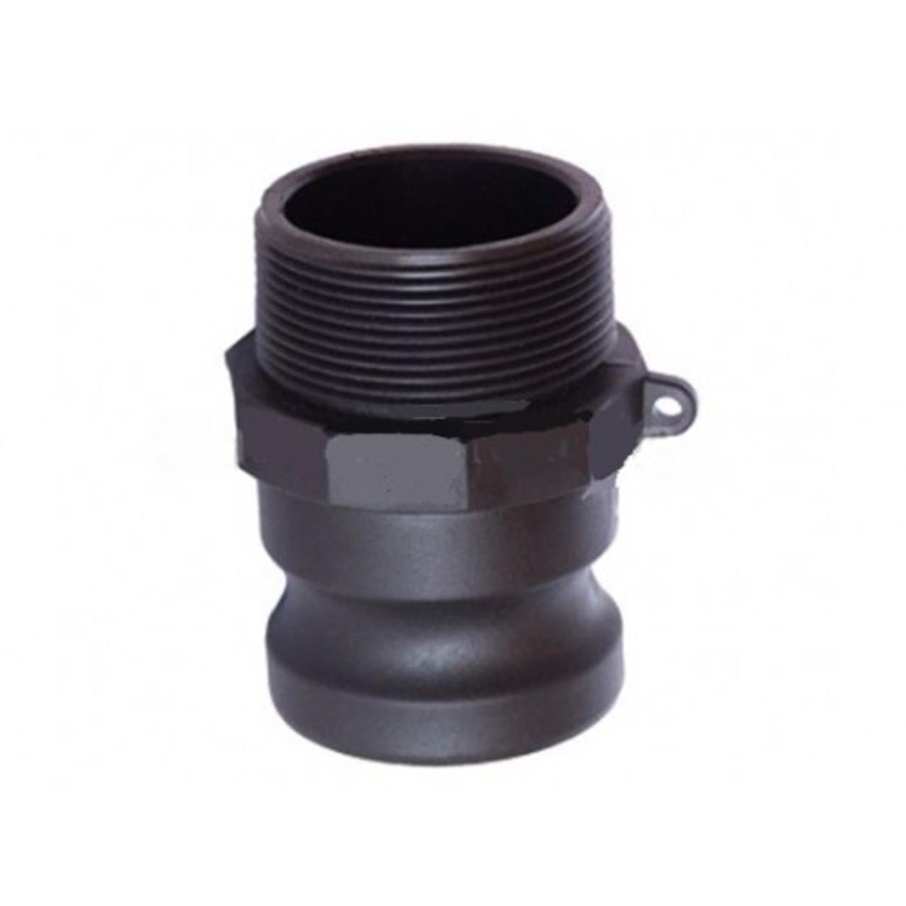 50mm 'F' - 50mm Male Camlock Adaptor x 50mm Male BSP Thread