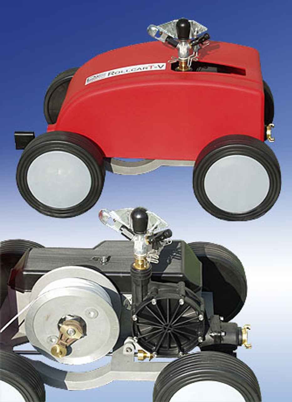RollcarT-V2 Travelling Irrigator with 160m Stainless Steel Cable