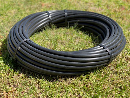 """19mm garden """"Lo-Pol"""" Poly Pipe x 50m Coil"""