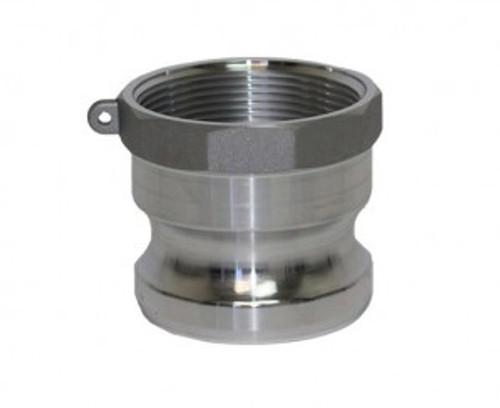 Camlock 50mm 'A' - 50mm Male Adaptor x 50mm Female BSP Thread - CAM-AL-50-A