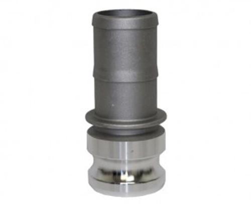Camlock 40mm 'E' - 40mm Male Camlock x 40mm Hose Tail - CAM-AL-40-E