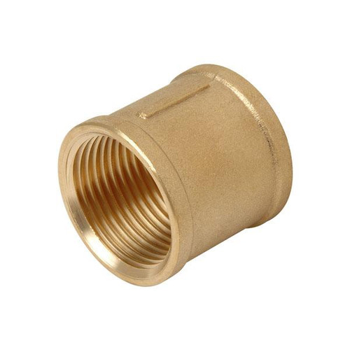 "Socket, 1"" Brass BSPP Watermark Approved and Australian Standard"