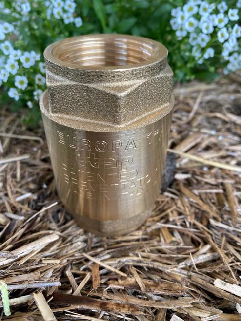 20mm Brass Spring Check Valve