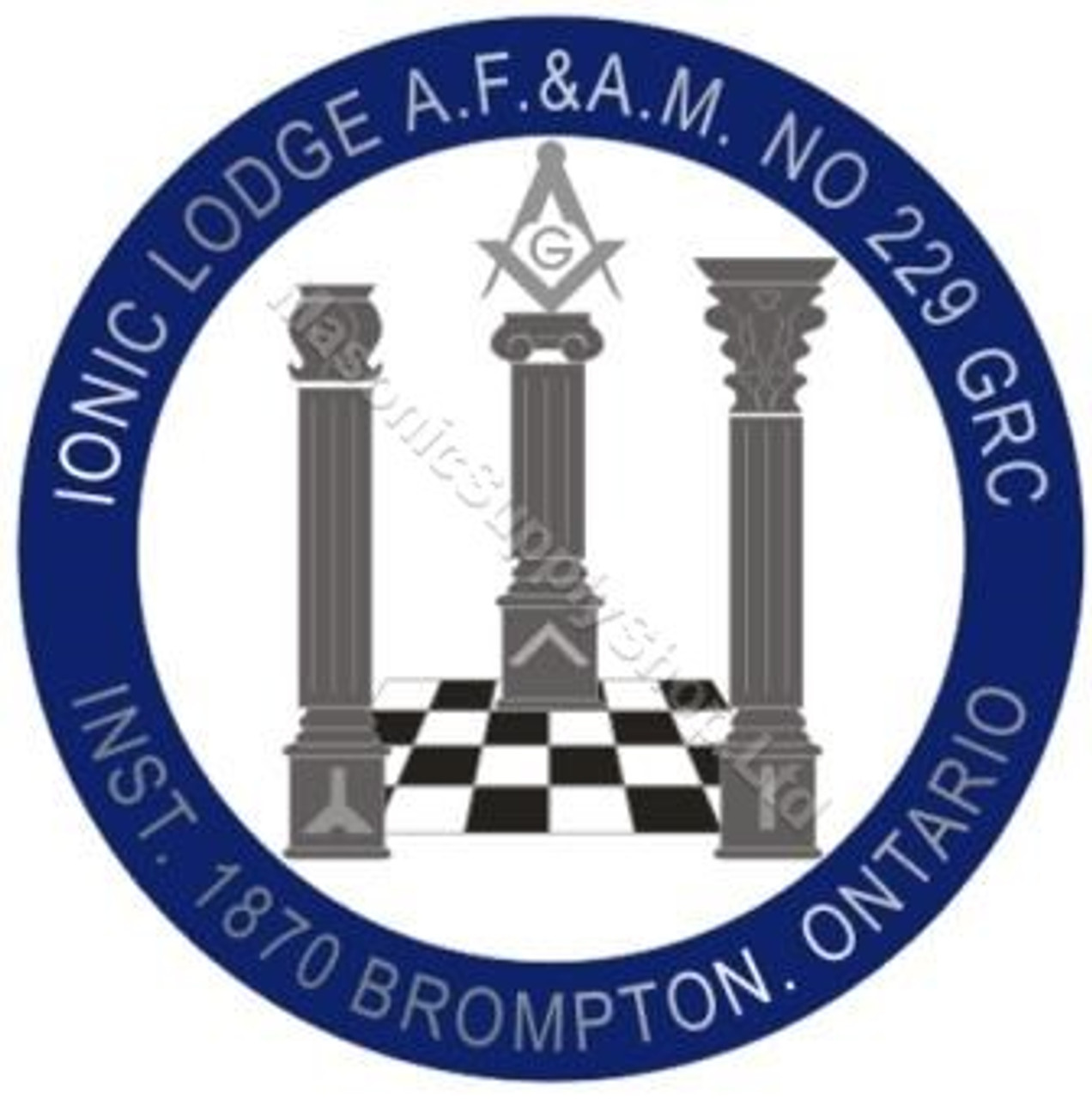Square and Compass with G Pin: Masonic Supply Shop