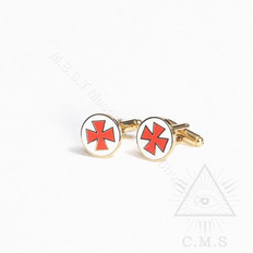 Knight Templar Cuff Links