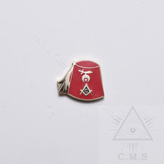 Shrine fez  lapel Pin