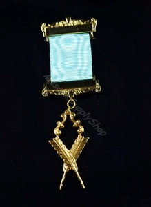 Secretary  Breast Jewel on Ribbon