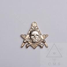 Masonic Skull  lapel pin