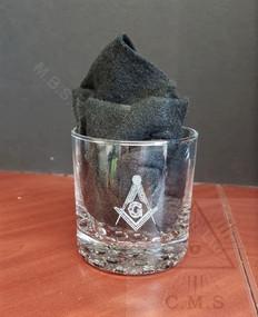 Masonic Whiskey Glasses