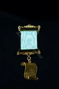 Historian/ Orator Breast Jewel on Ribbon