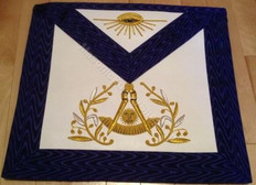 Past Masters Apron-14    Hand Embroidered