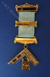Past Master Breast Jewel 12-3 bar