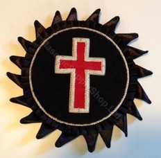 Knight Templars Cross  Rossettes
