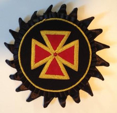 Knight Templars   Grand Commader  Rossettes