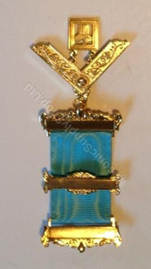 Masonic Past master jewel