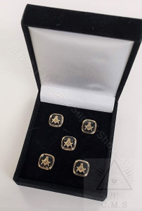 Masonic Square  Shirt studs