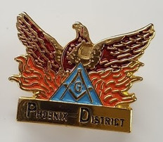 Custom Masonic lapel Pins
