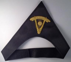 Gold    Masters Cravat   Hand Embroidered