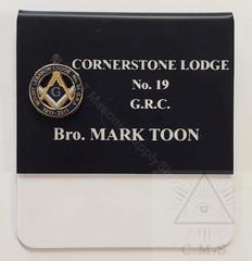 Custom Lodge Name badges