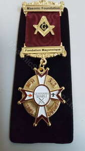 Masonic long service medal