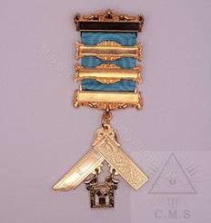 Masonic Past Masters jewel  $ bar