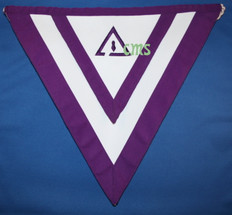Cryptic Rite Members Apron  Open