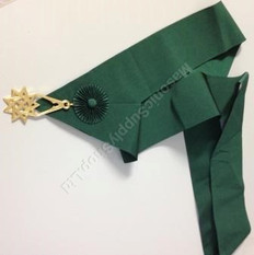 Royal Order of Scotland Green Sash (Gordon) with Jewel