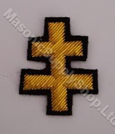 Knight Templars Perceptors Badge  Small