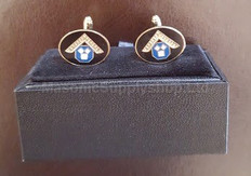 English Style Past Master Cufflinks