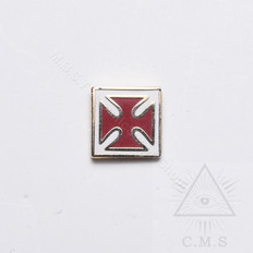 Knight Templar Lapel Pin