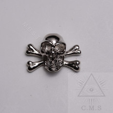 Skull & Crossed Bones Lapel Pin