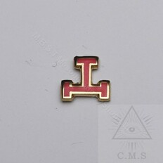 Royal Arch Tau  Lapel Pin