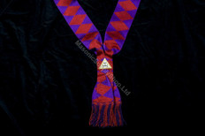 ROYAL ARCH COMPANIONS SASH  PURPLE DIAMONDS