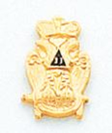 GOLD SCOTTISH RITE TIE TAC HOM4317T