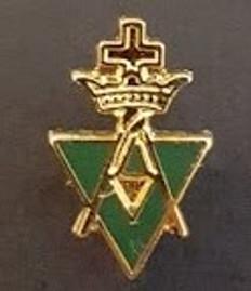 Lapel pin Allied Masonic Degree  PIN-AMD-E
